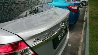 Perodua Bezza Gear Up rear Spoiler