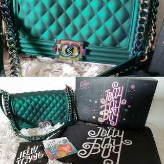 Jelly Toyboy royal green colour