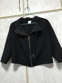 Bega Black 3/4 sleeve jacket