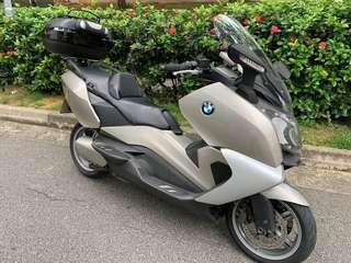 BMW C650GT. 2 Owners . Registration date 11/09/2013 .