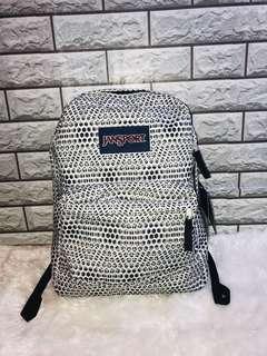 Jansport Black and White Backpack