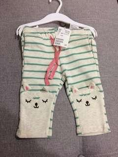 H&M babies girl long pants eur68 4-6M