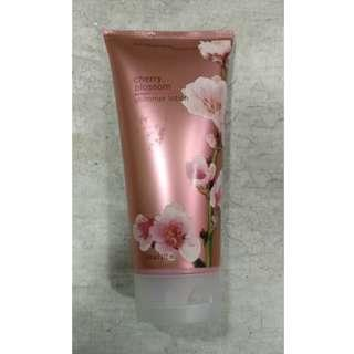 Bath & Body Works Cherry Blossom Shimmer Lotion 177ml