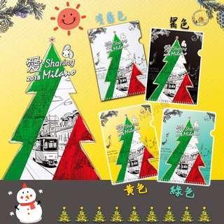 🚚 7-11 2018愛Sharing聖誕文件夾(單售)