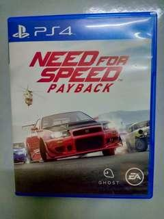 NFS (Need for Speed) Payback PS4