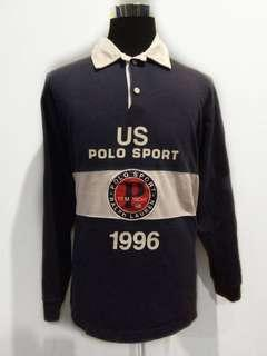 US Polo Sport Yacht Challenge 1996 rugby polo tee stadium