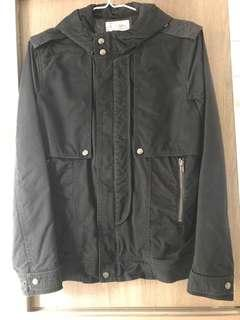 5cm navy army hooded jacket