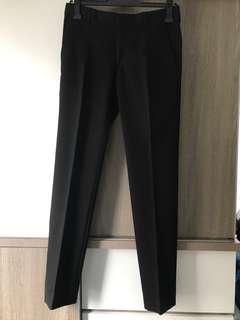 Zara man trousers black