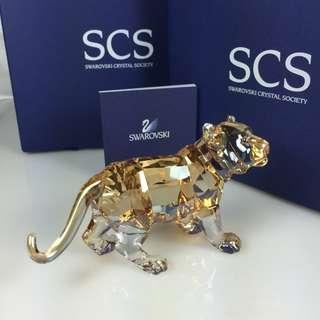 SWAROVSKI SCS Standing Tiger Cub, #1051686 NEW IN BOX