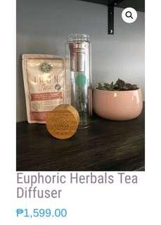 EUPHORIC HERBAL TEA DIFFUSER