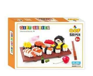 Mini Blocks 520pcs Sushi