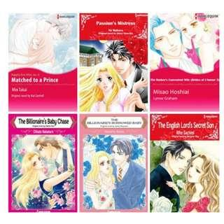 Paket Ebook Komik Harlequin English 47