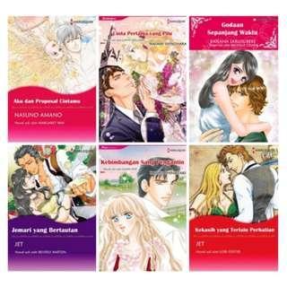 Paket Ebook Komik Harlequin Terjemahan 58