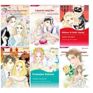Paket Ebook Komik Harlequin Terjemahan 59