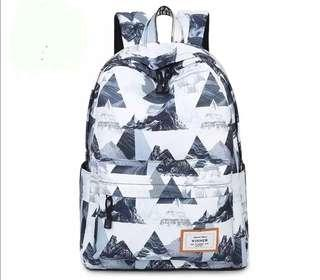Graphic Design A4 Size Backpack