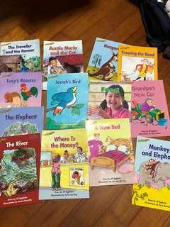 Reading Bee readers x12