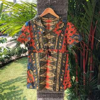 Batik Tunik Collar