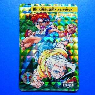 請自行出價 - 懷舊收藏 : Street Fighter 街頭霸王 系列街霸 zero 1 單閃 no.3 一張, 祇限郵寄交收.
