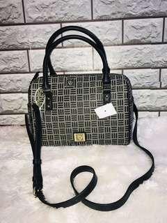 Black and Grey 2 Way Bag