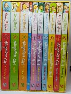 The Naughtest Girl Box Set (by Enid Blyton)