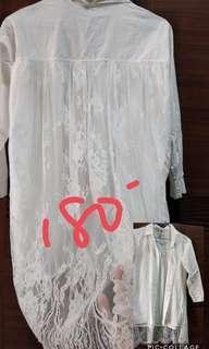 🚚 白襯衫外套(兩穿)