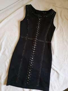 F21 Studded Bodycon Dress