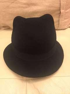 Zara Kids 貓耳仔帽 Hat with Cat Ear
