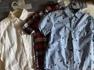 Bundle polo shirts( 4-6y)