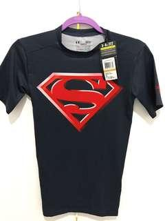 Under Armour compression shirt size small DC's Superman