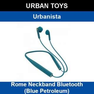 7827dc60c6e Urbanista Rome Neckband Bluetooth / Blue Petroleum-Blue / Wireless In-Ear  Earphones /