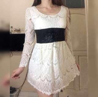 FREE ONGKIR lace dress