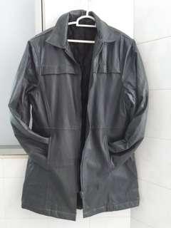 UOMO Leather Coat