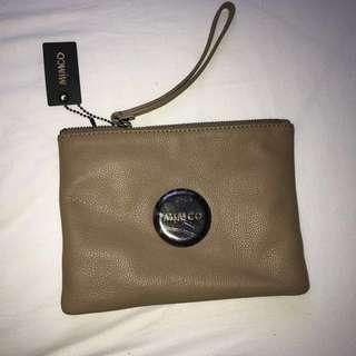 Mimco Brown Pouch