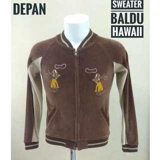 Sweater kain baldu HAWAII