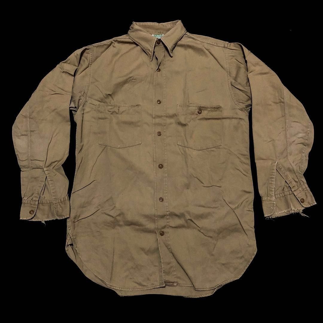 1940s Hercules Work Shirt Men S Fashion Clothes Tops On Carousell