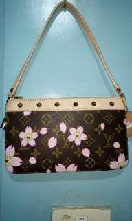 Louis Vuitton Printed Small Shoulder bag with studs