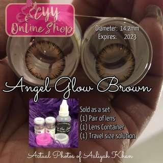 Angel Glow Brown *New Arrival!* Original Colored contacts Made in Korea. Good for 1 year use