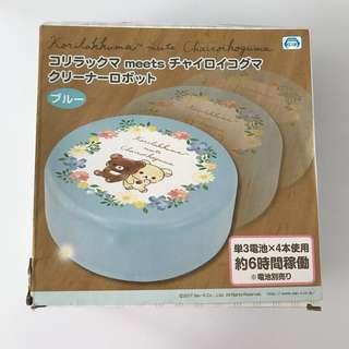 包郵 二手95%new 日本景品 鬆弛熊 自動吸塵機