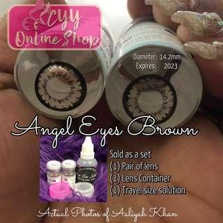 Angel Eyes Brown *New Arrival!* Original Colored contacts Made in Korea. Good for 1 year use