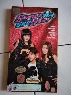 S.H.E Superstar CD + VCD Limited edition.