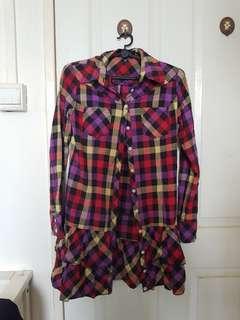 🚚 flannel dress shirt