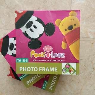 Disney stackable photo frames