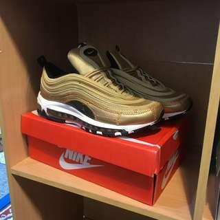 NEW AIRMAX 97 CR7 GOLD EDITION  (40-44) 6-9uk