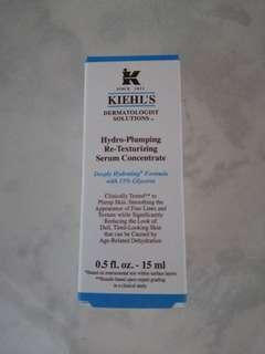 Brand New Kiehl's Hydro-Plumping Re-Texurizing Serum Concentrate