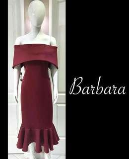 Neoprene Dress - Barbara