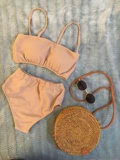 Trendy Cream Swimsuit