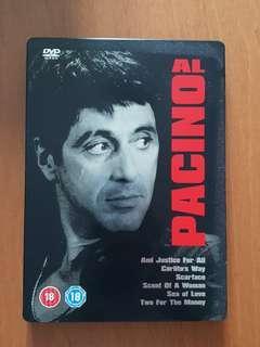 Al Pacino 6 Movie DVD Steelbook
