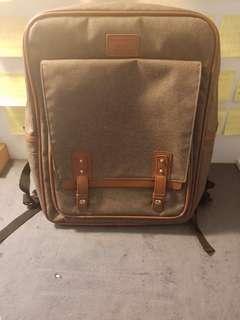 🚚 帆布後背包  電腦包  筆電包包
