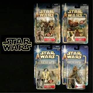 Star Wars - Attack Of The Clones 2002 Figure *Set of 8*