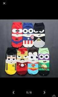 🚚 Super hero socks